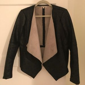 Matty M faux leather / shearling jacket!!!